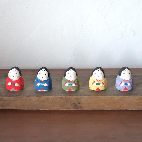 ミニお多福さん Mini Otafuku  Size:3×3.2×4cm /Material: Porcelain   ¥1,500+tax