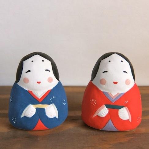 お多福 Otafuku  Size:7×6×5.5cm/Material: Porcelain  ¥3,500+tax