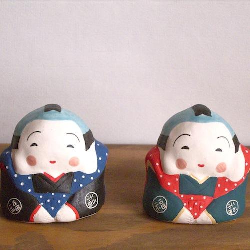 福助 Fukusuke   Size:6.5×6×5.5cm/Material: Porcelain¥3,500+tax
