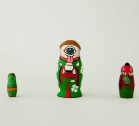 MS3-7 Matryoshka 3sets 三妖怪  Three specter  ¥6,500+Tax