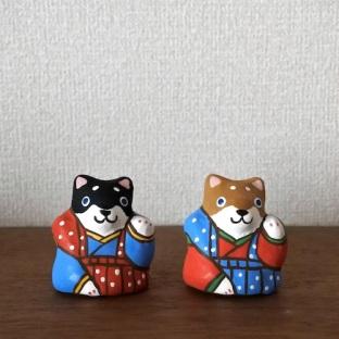 BELLETO-23 干支土鈴 「招き犬」